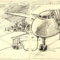 Logan Airport — April