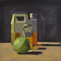 Oil Jars & Green Apple, 072010