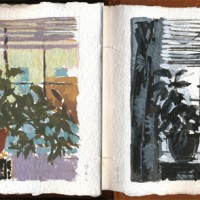 Gouache Paintings — Fall 2012