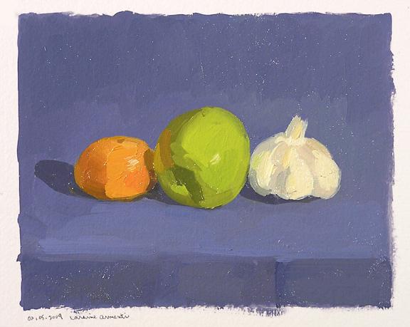 020509 Clementine, Green Apple, Garlic