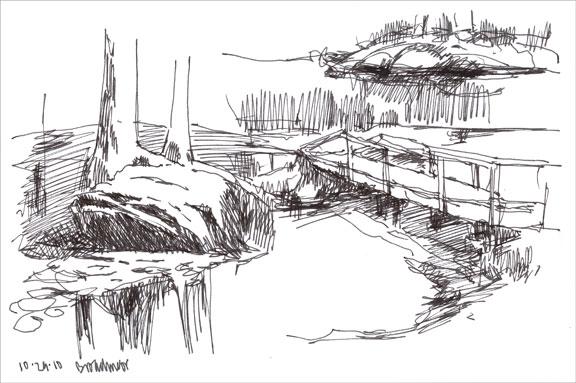 broadmoor; ink