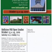 Holliston Open Studio; 4-color postcard