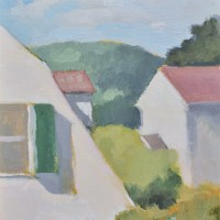 Mainstreet Circa 1934, 07.27.11 — 10 x 8 in (25 x 20 cm), oil on panel, 2011