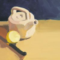 Teapot, Knife & Lemon, 081908