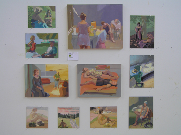 week of paintings