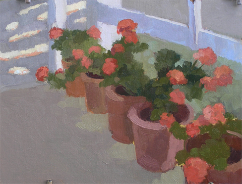 geraniums, no. 2