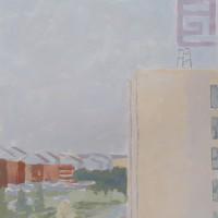 E-Park, 050715 gouache, 12.875 x 9 in, 2015