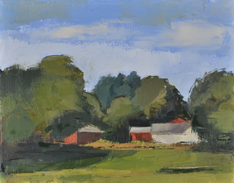 Verrill's, oil on canvas, 11×14 in, 2014
